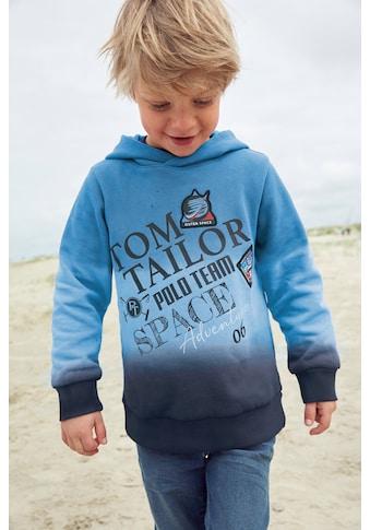 TOM TAILOR Polo Team Kapuzensweatshirt »SPACE ADVENTURE« kaufen