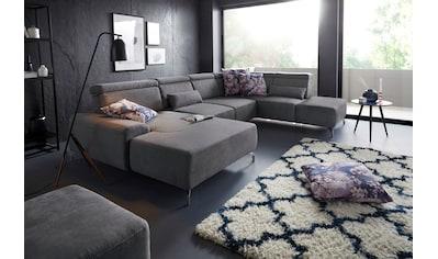 sit&more Wohnlandschaft, 12 cm Fusshöhe, inklusive Sitztiefenverstellung und... kaufen