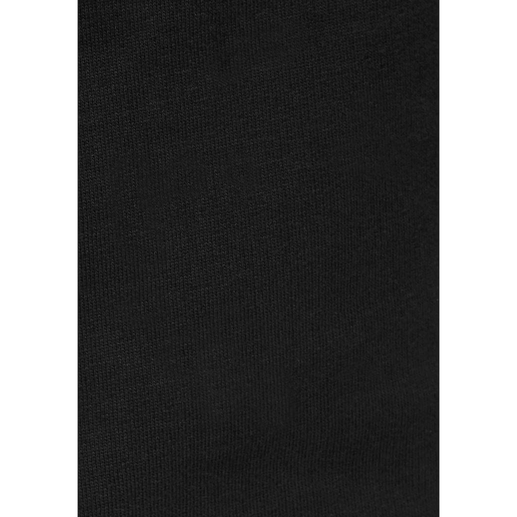 Bench. Sweathose, mit grossem Logo-Druck und Nahttaschen