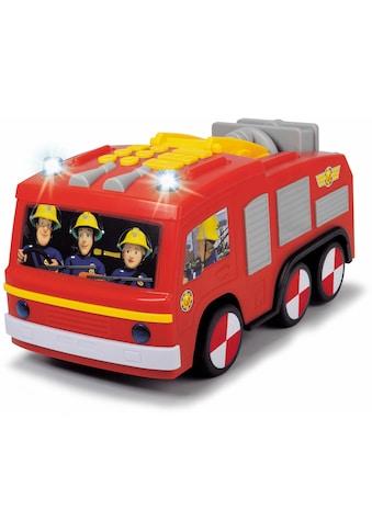 Dickie Toys Spielzeug-Feuerwehr »Feuerwehrmann Sam Super Tech Jupiter«, mit Licht und Sound kaufen
