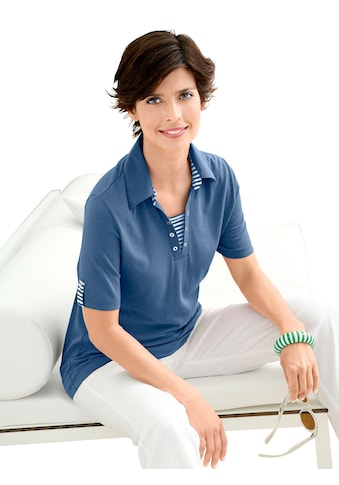 Casual Looks Polo - T - Shirt mit kurzen Ärmeln kaufen