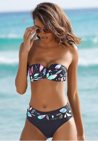 Sunseeker Bügel - Bandeau - Bikini - Top »Leaves« kaufen