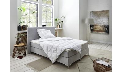 ATLANTIC home collection Boxspringbett »Cleo«, mit Bettwäsche-Set und Topper kaufen