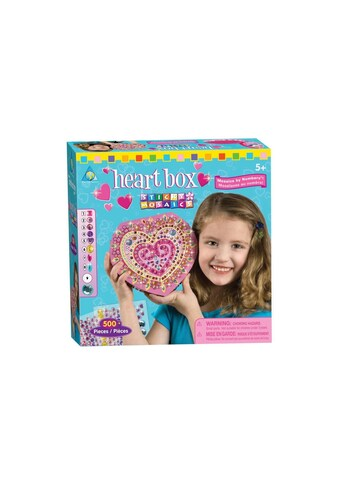 Sticky Mosaics Kreativset »Bastelset Heart Box« kaufen