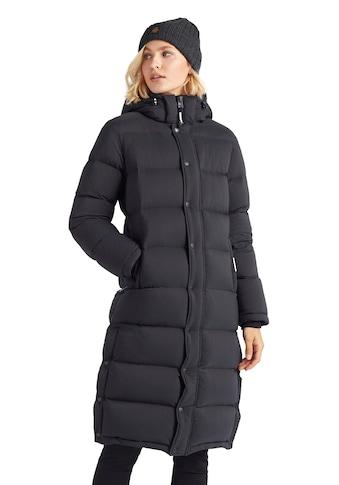 khujo Steppjacke »FEODORA Fake Down«, stylischer Winter Steppmantel m. abnehmbarer Kapuze kaufen