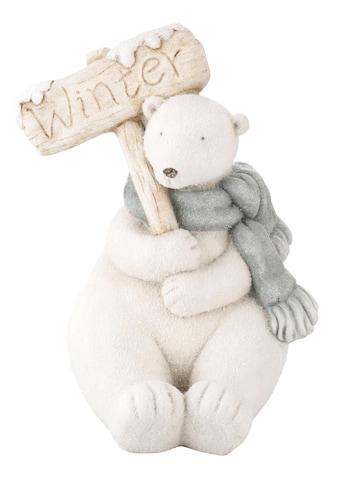 Tierfigur »Eisbär«, für den Innen- und Aussenbereich, Höhe 40 cm kaufen