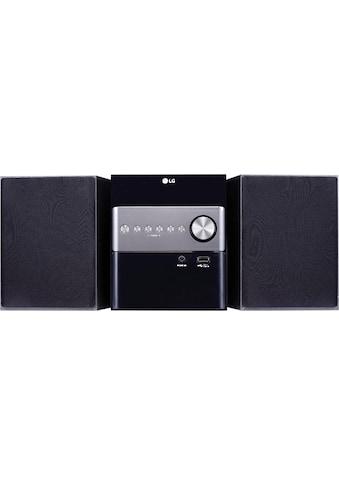 LG Microanlage »CM1560DAB«, (Digitalradio (DAB+) 10 W) kaufen