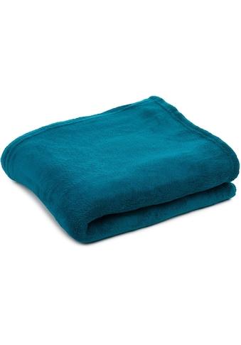 Gözze Plaid »Color«, in schlichten Unifarben kaufen