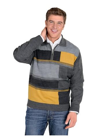 Classic Pullover mit geripptem Polokragen kaufen
