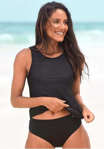 LASCANA Bikini-Hose, mit höher geschnittener Form kaufen