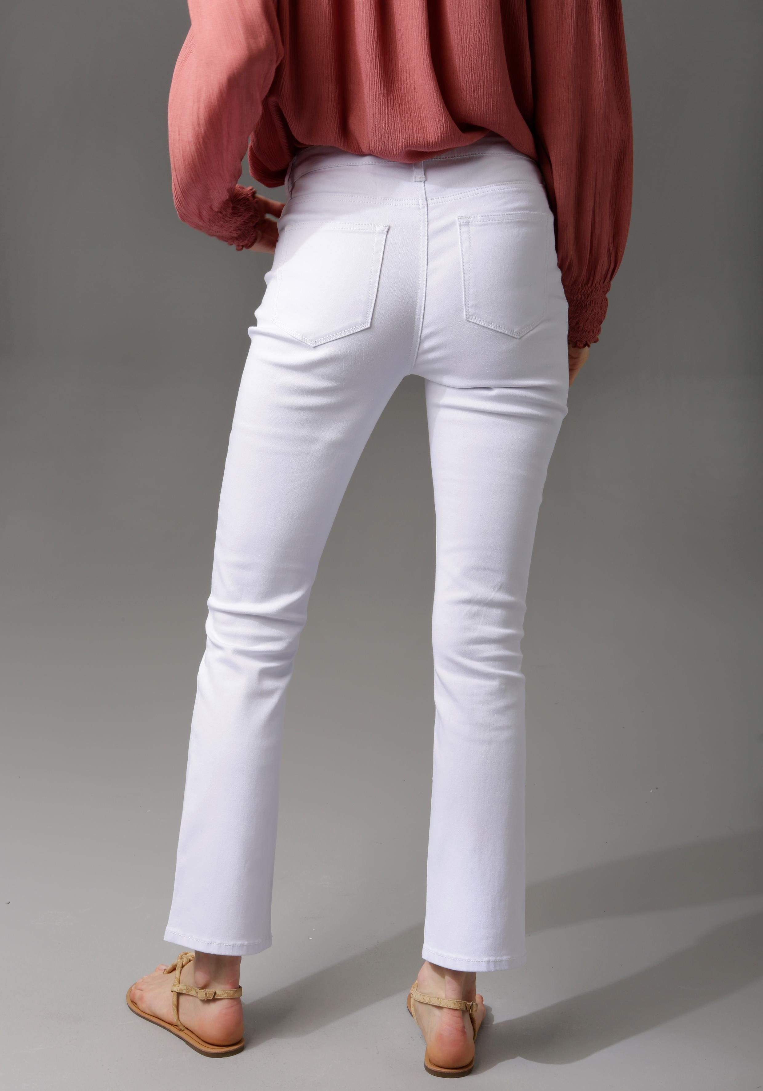 Image of Aniston CASUAL Bootcut-Jeans