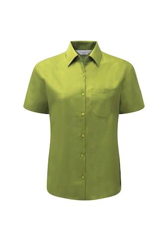 Russell Kurzarmbluse »Collection Poplin Bluse, Kurzarm, pflegeleicht« kaufen