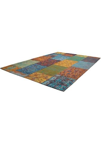 Kayoom Teppich »Symphony 160«, rechteckig, 8 mm Höhe, Flachgewebe, reine Baumwolle, Wohnzimmer kaufen