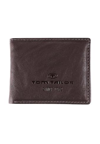 TOM TAILOR Geldbörse »LARY«, aus Leder im Querformat kaufen