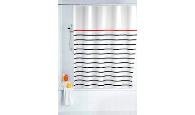 WENKO Duschvorhang »Marine White« Breite 180 cm kaufen