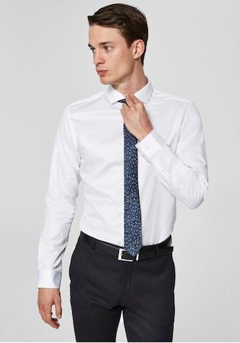 SELECTED HOMME Langarmhemd »REGSEL - PELLE SHIRT« kaufen