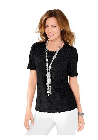 Lady Shirt aus edler Spitze kaufen