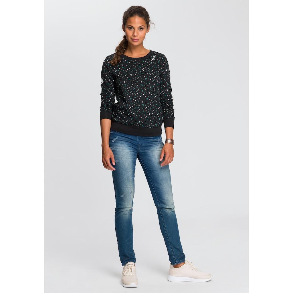 KangaROOS Sweatshirt, im sportlichen Minimal-Print