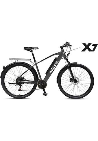 NILOX E-Bike »Nilox X7 e-Bike«, 21 Gang kaufen