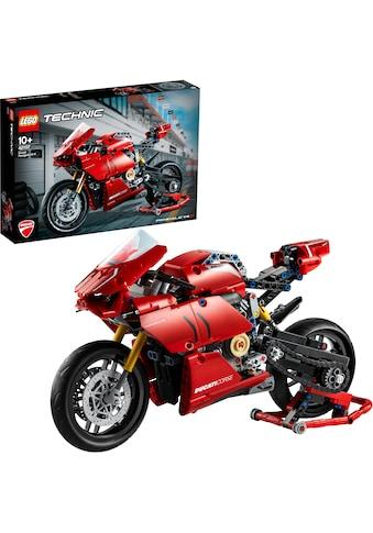 LEGO® Konstruktionsspielsteine »Ducati Panigale V4 R (42107), LEGO® Technic«, (646... kaufen