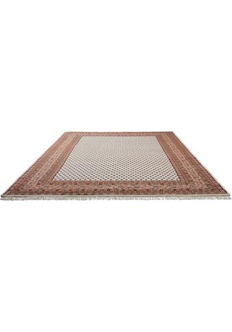 Home affaire Orientteppich »Levin«, rechteckig, 12 mm Höhe, handgeknüpft, mit Fransen, Wohnzimmer kaufen