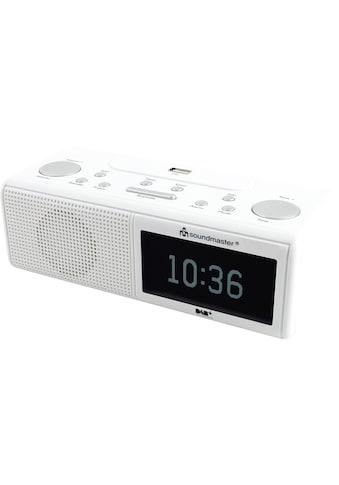 Soundmaster Radiowecker »UR8350WE Weiss« kaufen