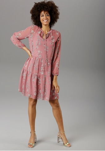 Aniston SELECTED Chiffonkleid kaufen