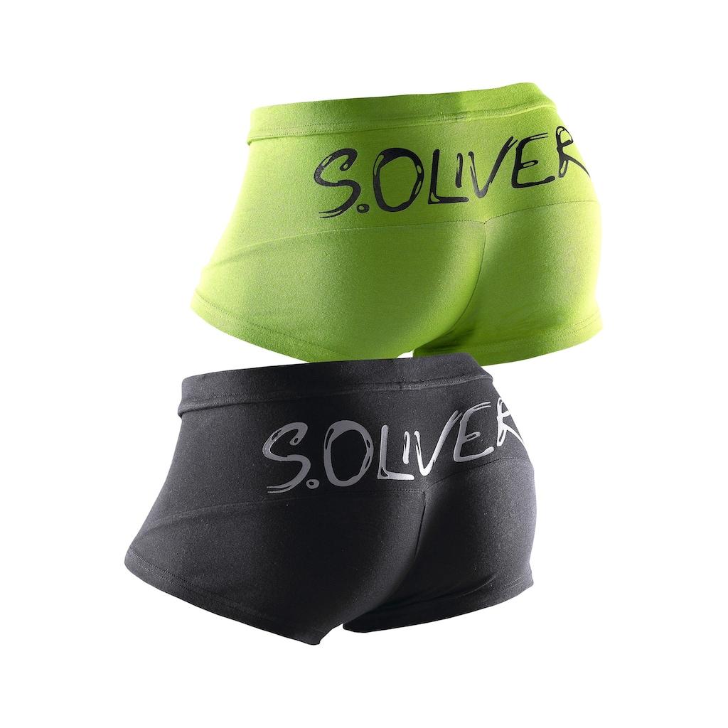 s.Oliver Bodywear Hipster, mit grossem Logoschriftzug