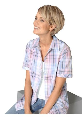 Classic Basics Bluse mit durchgehender Knopfleiste kaufen