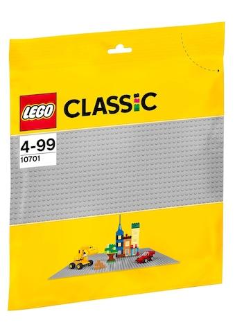 LEGO® Konstruktionsspielsteine »Graue Grundplatte (10701), LEGO® Classic«, (1 St.) kaufen
