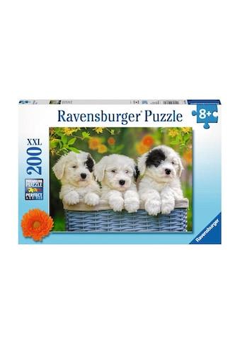 Ravensburger Puzzle »Kuschelige Welpen« kaufen