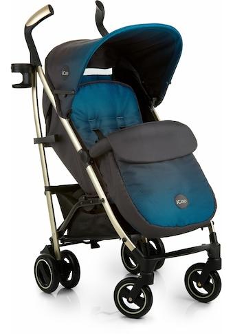 iCoo Kinder-Buggy »Pace Indigo«, mit leichtem Aluminiumgestell; Kinderwagen, Buggy,... kaufen