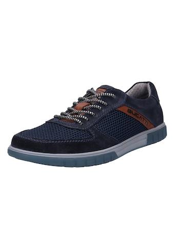 bugatti Sneaker »PRATO«, mit gepolstertem Schaftrand kaufen