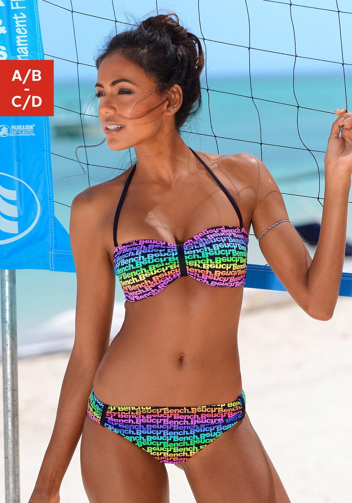 Image of Bench. Bandeau-Bikini »Boom«
