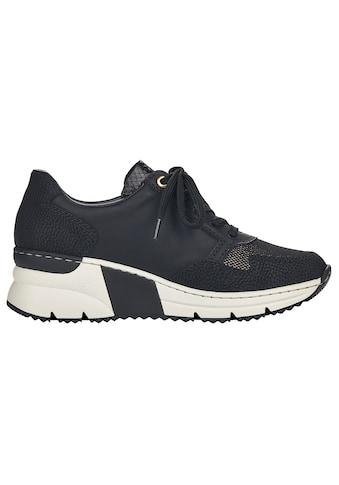 Rieker Wedgesneaker, im Materialmix kaufen