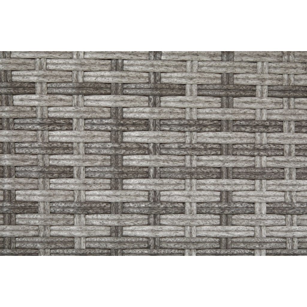 KONIFERA Gartenmöbelset »Belluno«, (13 tlg.), 6 Sessel, Tisch 15x 8 cm, Polyrattan
