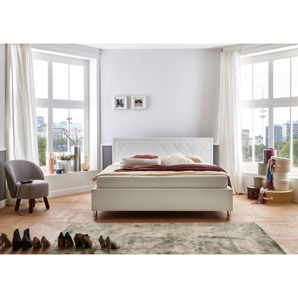 ATLANTIC home collection Polsterbett »Johanna«, mit Lattenrost und Bettkasten