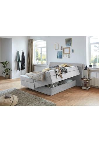 Premium collection by Home affaire Boxspringbett »Linda«, mit unsichtbarem Bettkasten, extra viel Stauraum kaufen