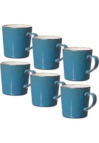 Ritzenhoff & Breker Becher »Kaffeebecher-Set Visby 6tlg, Weiss«, (Set, 6 tlg., Das Set... kaufen
