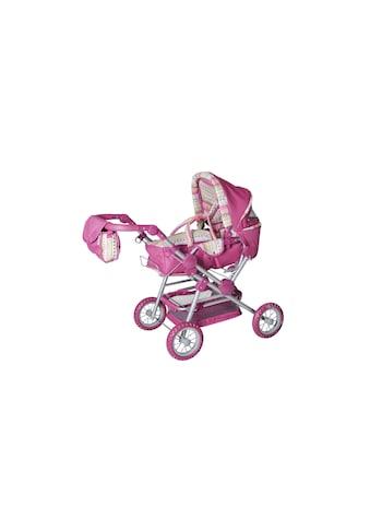 Puppenwagen, KNORRTOYS.COM®, »Twingo S Pink Stripe« kaufen