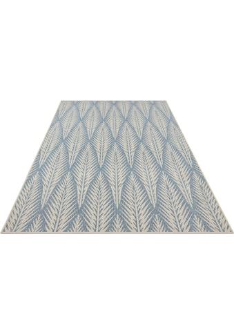 bougari Teppich »Pella«, rechteckig, 4 mm Höhe, In- und Outdoor geeignet, Flachgewebe,... kaufen