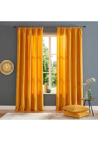 Home affaire Vorhang »Brighton«, Gardine, Fertiggardine, blickdicht kaufen