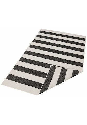 andas Teppich »Alan«, rechteckig, 5 mm Höhe, In- und Outdoor geeignet, Wendeteppich, Wohnzimmer kaufen
