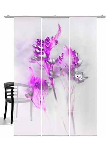 emotion textiles Schiebegardine »Floralzauber«, HxB: 260x60, mit Befestigungszubehör kaufen