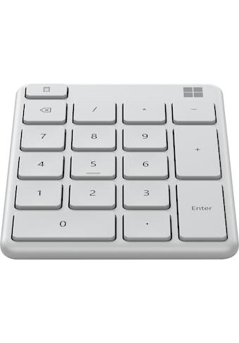 Microsoft Tastatur »MS Number Pad Black« kaufen