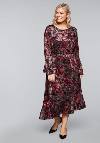 sheego by Joe Browns Partykleid, mit Blumenmuster kaufen