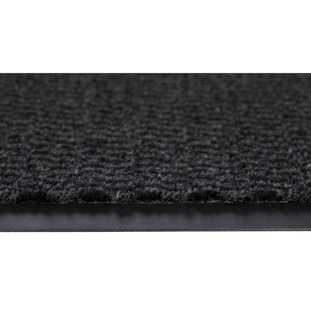 Andiamo Fussmatte »Easy«, rechteckig, 5 mm Höhe, Fussabstreifer, Fussabtreter, Schmutzfangläufer, Schmutzfangmatte, Schmutzfangteppich, Schmutzmatte, Türmatte, Türvorleger, In- und Outdoor geeignet, auch in Läufergrössen erhältlich