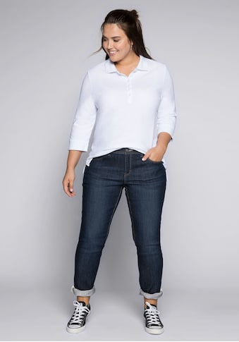 Sheego Stretch-Jeans, KIRA in schmaler Passform kaufen