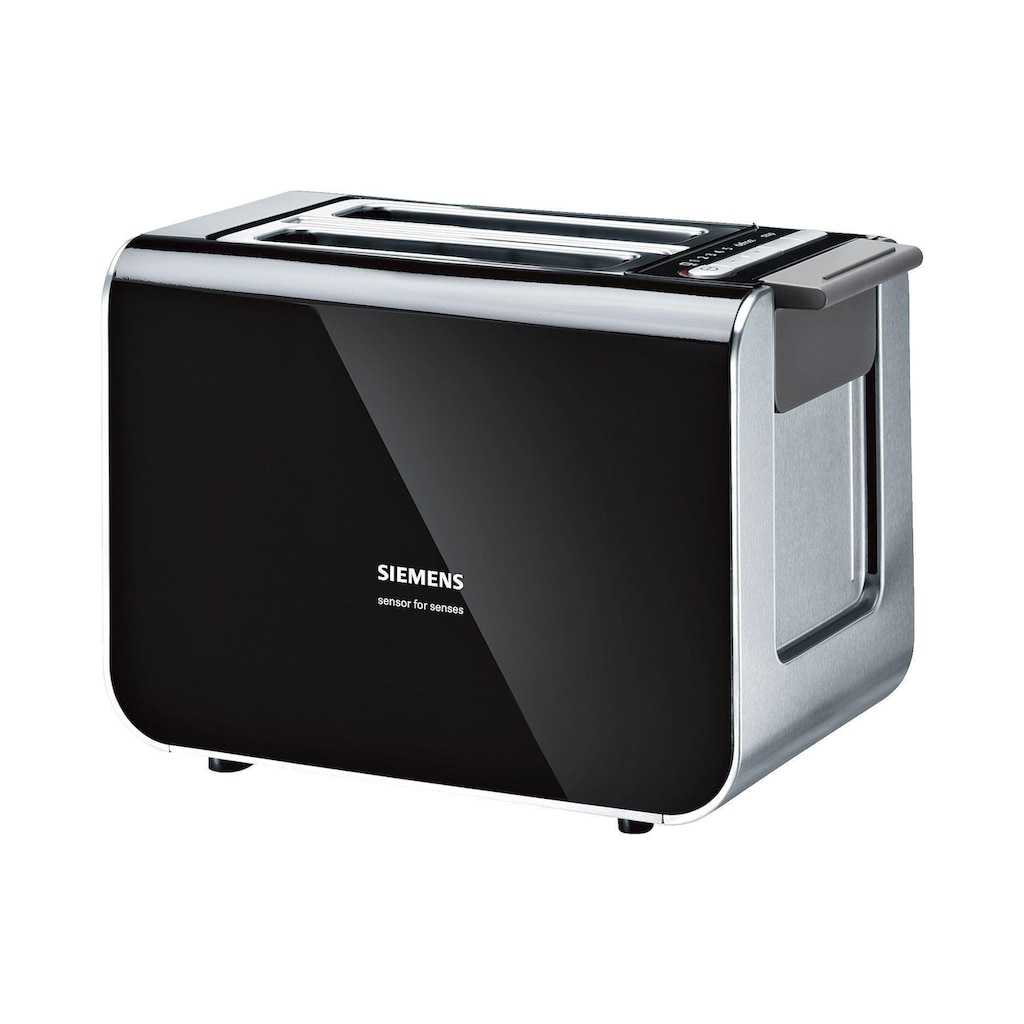 SIEMENS Toaster »TT86103 Schwarz«, 860 W