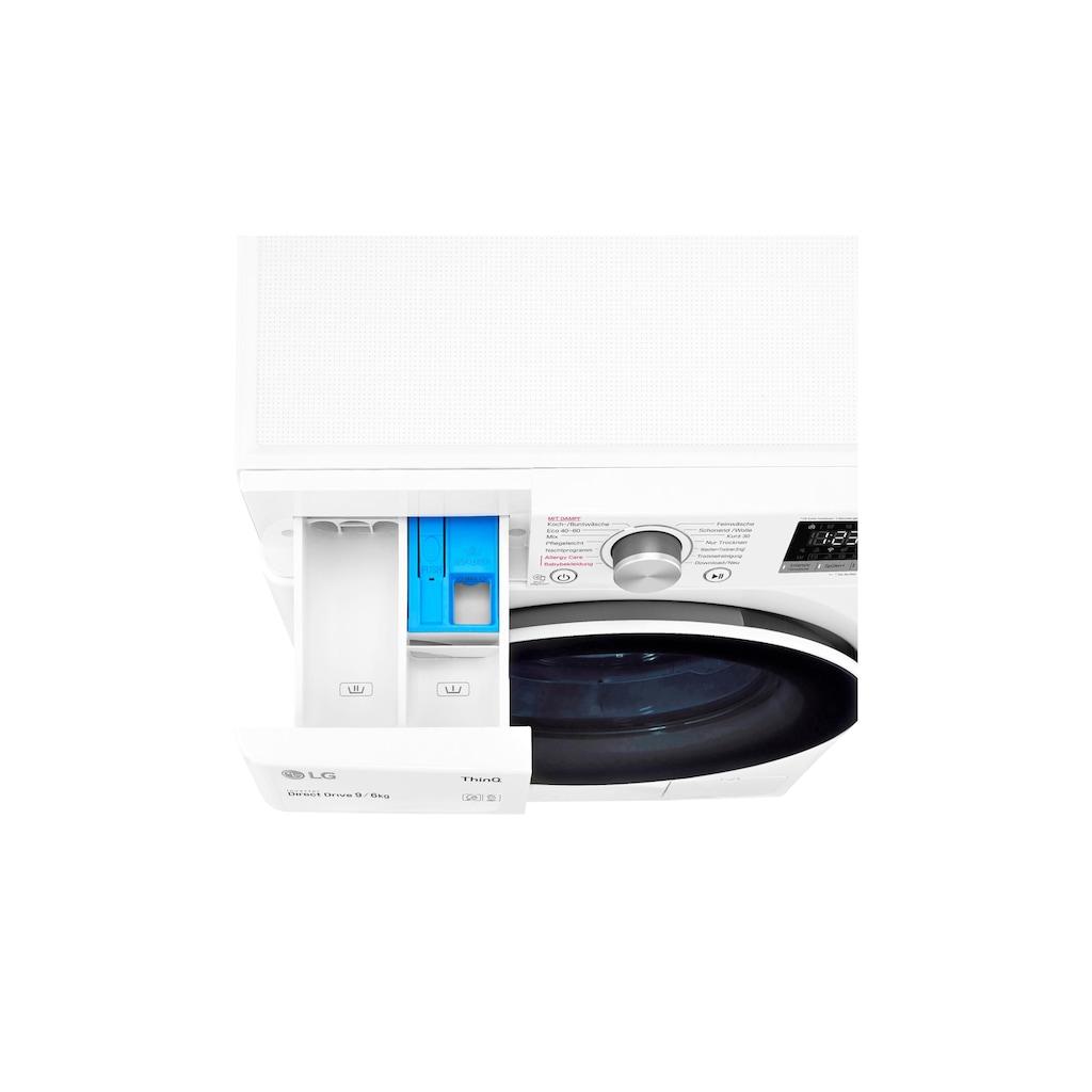 LG Waschtrockner »V5WD906 9 kg / 6 kg A«, WLAN-Verbindung